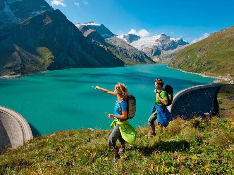 Holiday Glacier Mountains Lake Zell Am See Kaprun