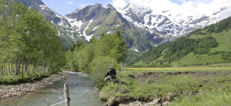 Fly fishing waters Fuscher Ache