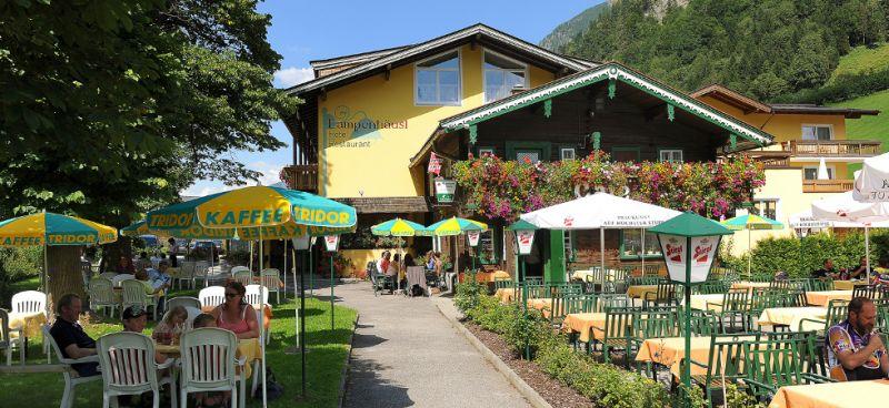 Gastgarten in the summer