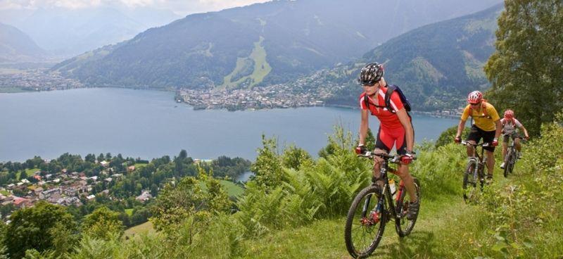 Montainbiken to the mountain pastures
