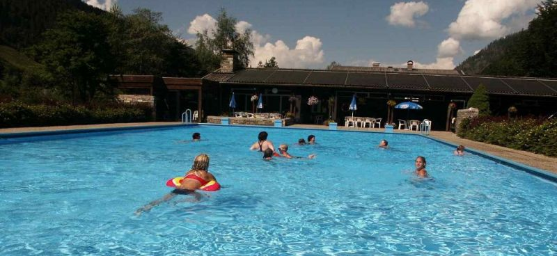 Public swimming pool in Fusch