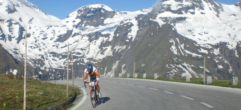By bike to Fuschertörl